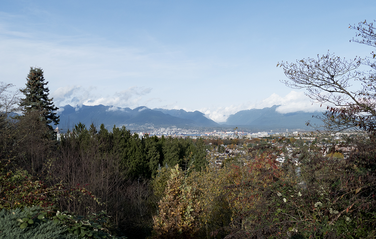 Vancouver from Queen Elizabeth Park