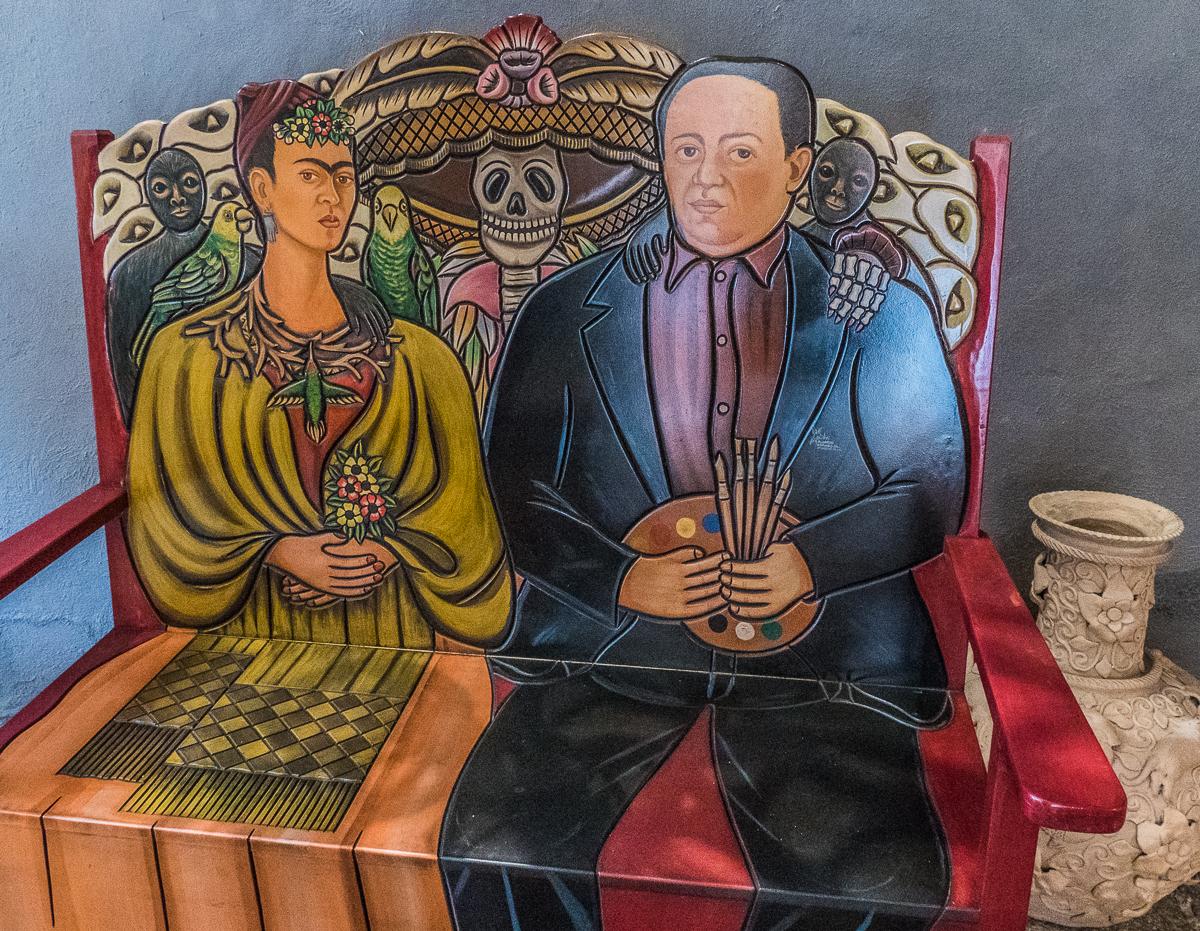 Frida Kahlo and Diego Rivera seat, Casa de los Venados